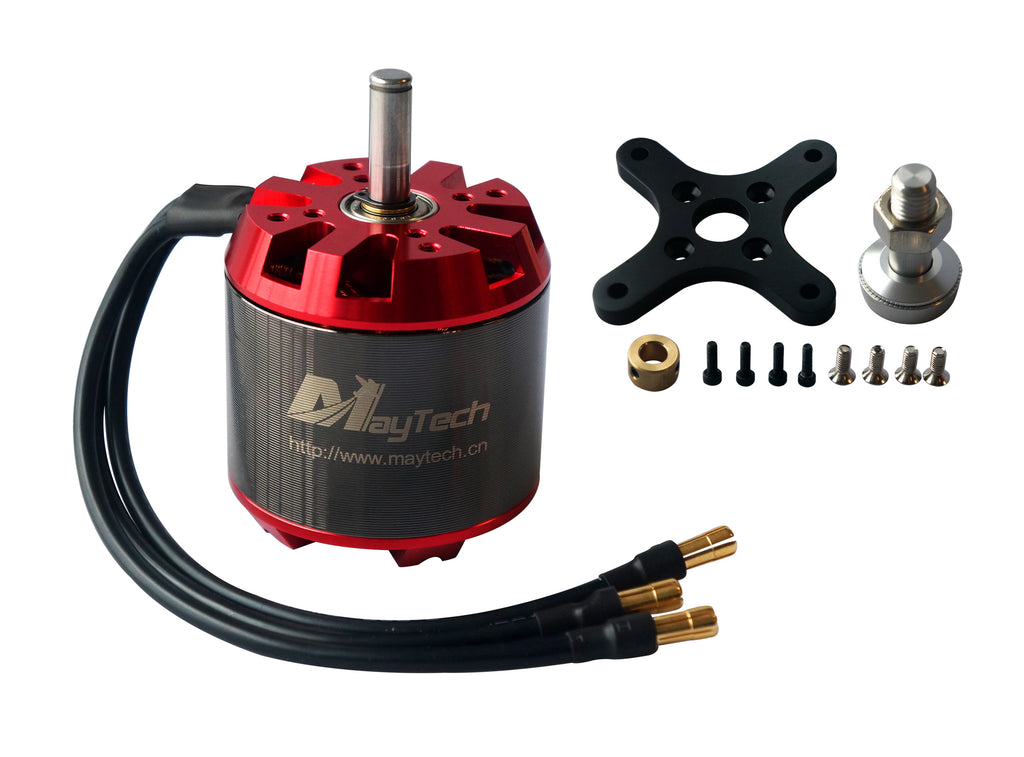 Brushless 6365 200KV Sensorless Outrunner DC Motor for Esk8/RC Plane/Helicopter