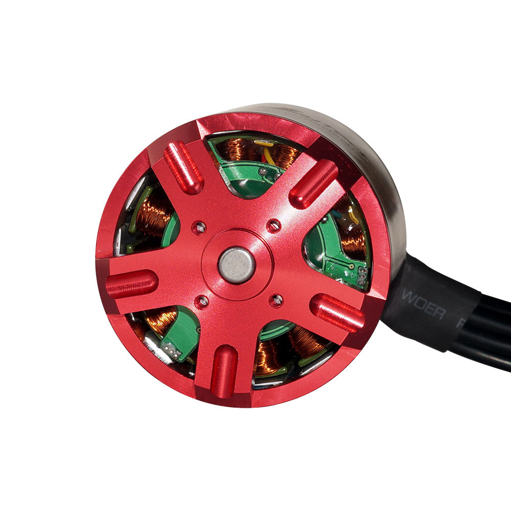 【90KV In Stock !】Maytech Brushless 6374 90/190KV Open Cover Outrunner Sensored Motor for Esk8/Robots