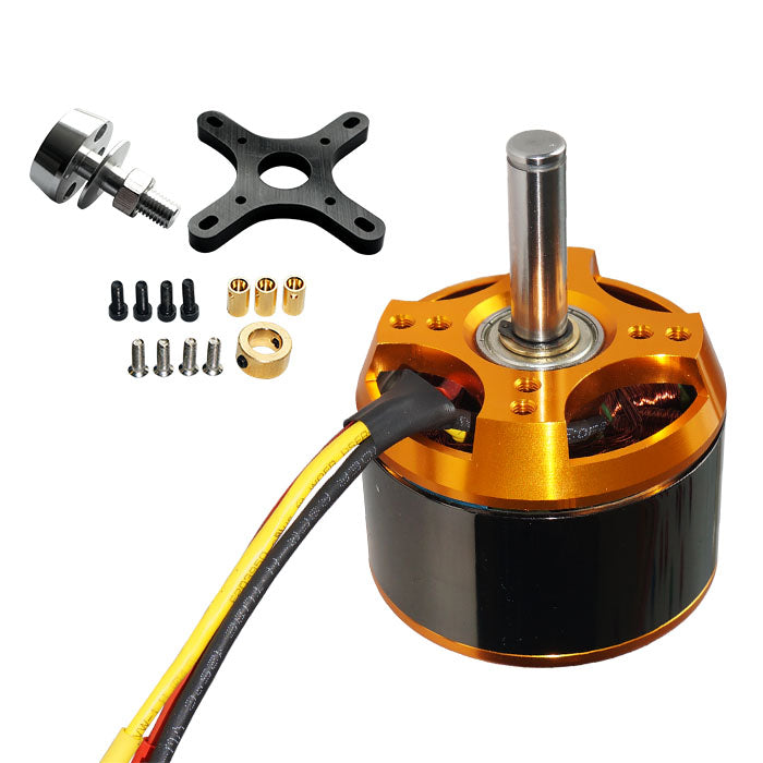 Maytech Brushless 8085 90/160/250KV Sensorless Outrunner Motor for Esk8/Large Airplane