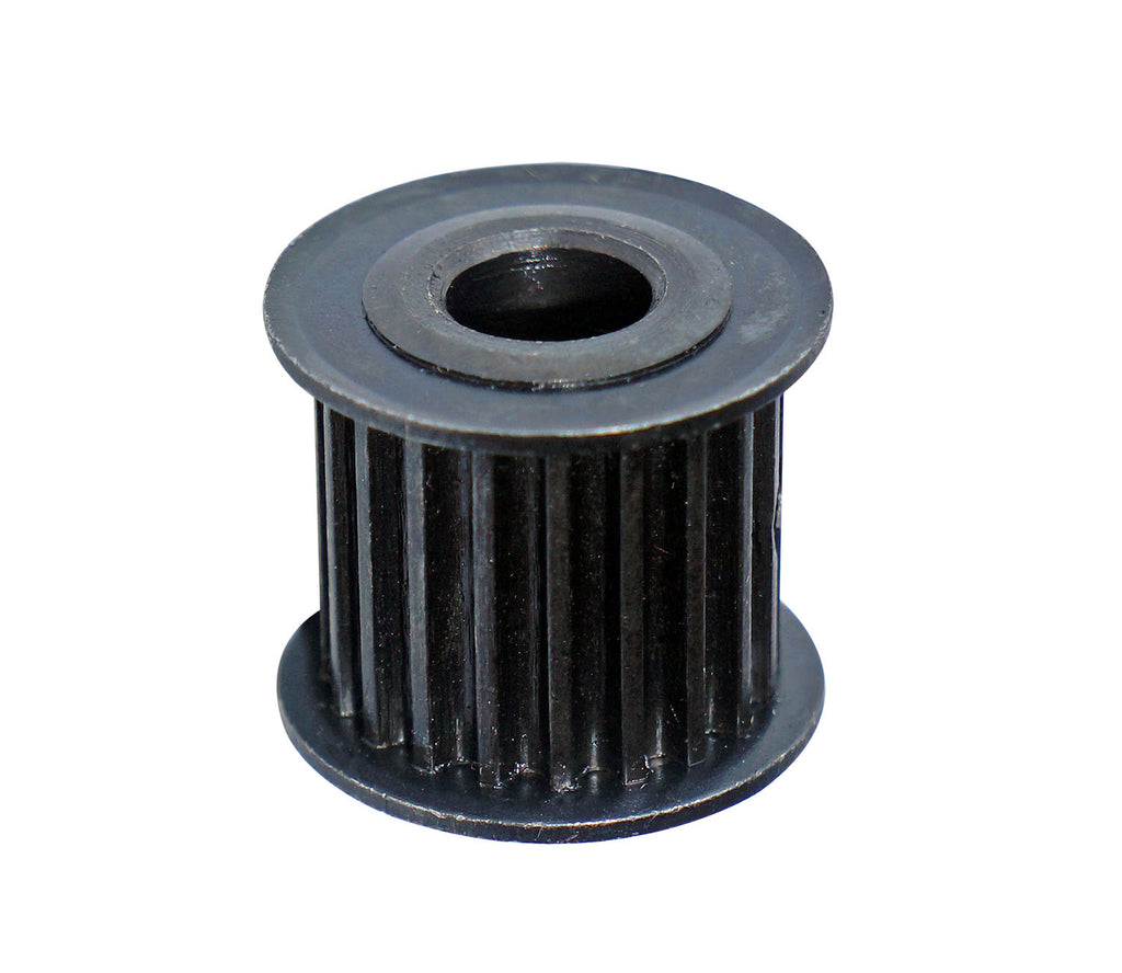 Motor pulley for belt-driven system