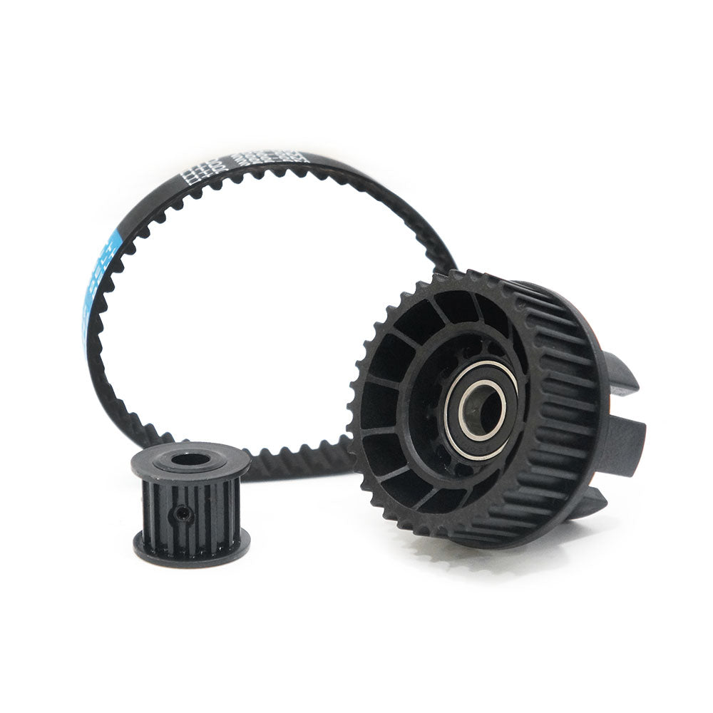 Maytech MTSKPS2005 Pulley Belt Comb with 36T 5M Wheel Pulley with Ball Bearing 14T 5M Motor Pulley 51T 5M HTD255 Belt for Electric Skateboard/Elongboard