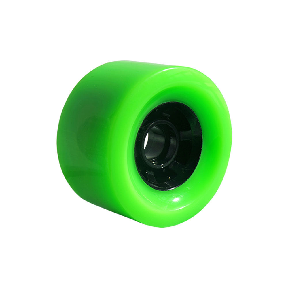 Maytech MTSKW8352 83x52mm Wheels with NSK 608ZZ Ball Bearing Green Color 85A/78A Hardness Wheel for Skateboard Elongboard Esk8