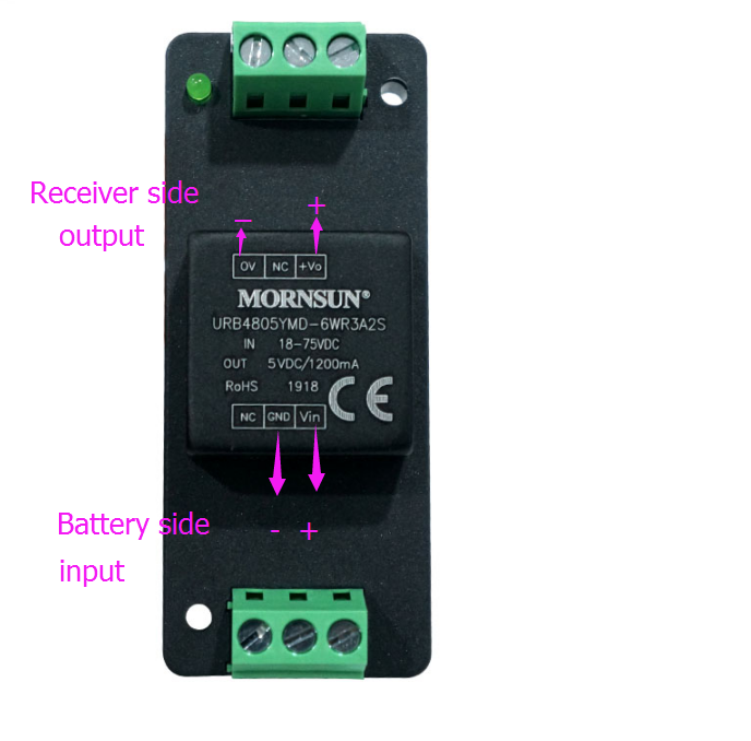 Maytech 75V Convert to 5V UBEC DC-DC Module Power Supply for Receiver
