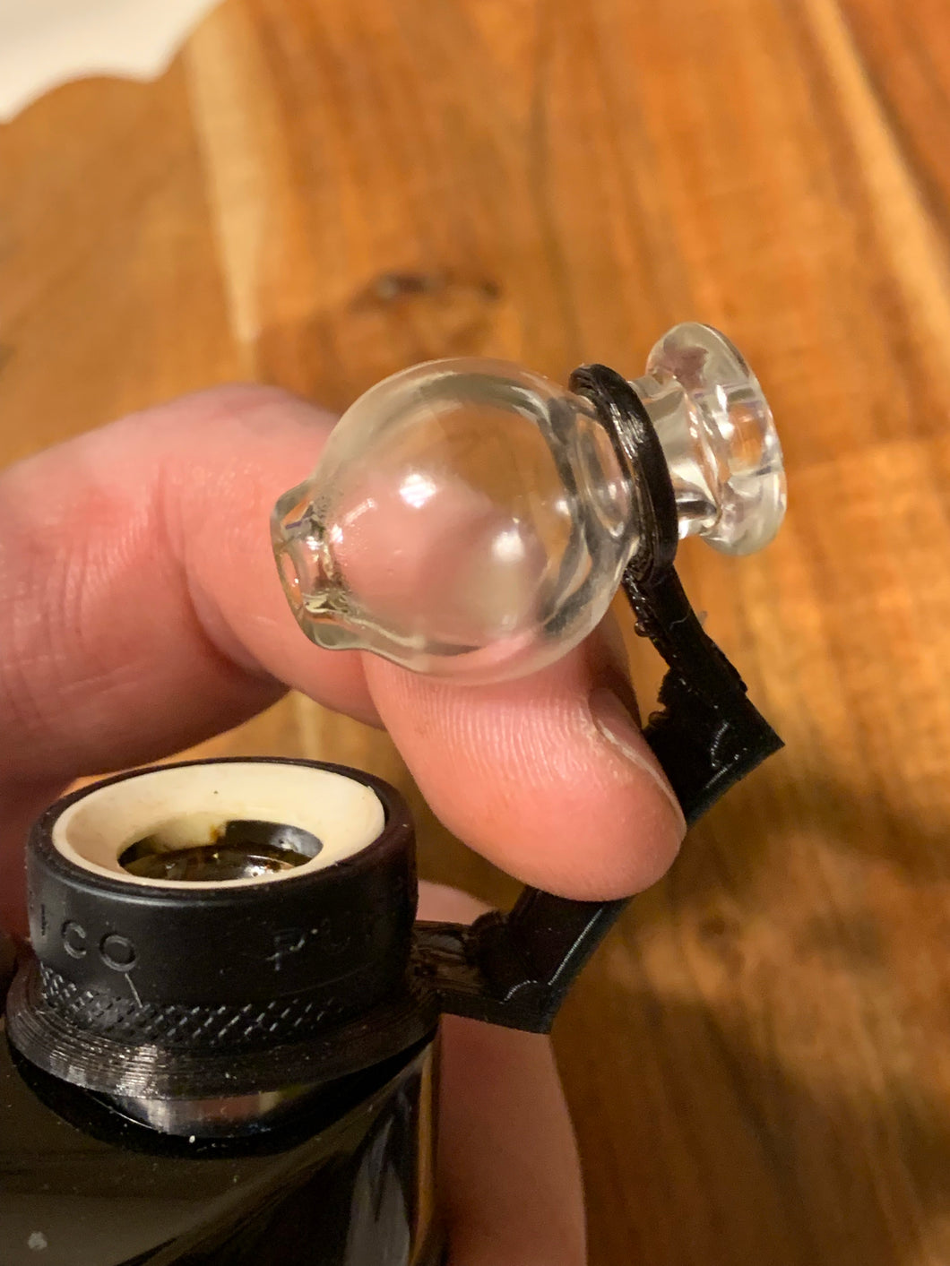 Puffco Peak Bubble cap and Flexible-Hinge - Mr. Bonsai's Vape Accessories
