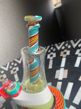 Load image into Gallery viewer, Puffco Peak Custom Linework borosilicate glass attachment set - Mr. Bonsai