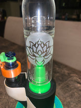 Load image into Gallery viewer, Sandblasted 14mm Hydratube bubbler universal glass Erig attachment - Mr. Bonsai