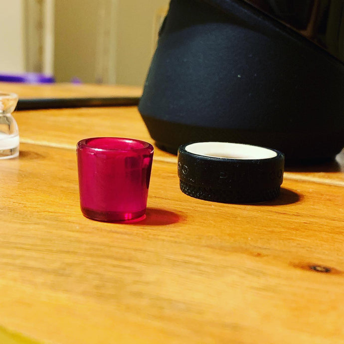 NEW V1/V2 Puffco Peak Ruby and Frosted White Sapphire Inserts! - Mr. Bonsai's Vape Accessories