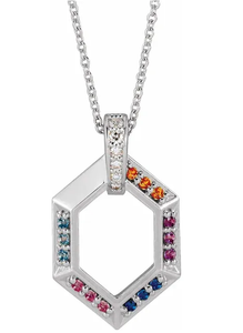 Family Ties Birthstone Necklace