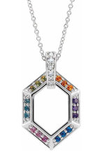 Load image into Gallery viewer, Family Ties Birthstone Necklace
