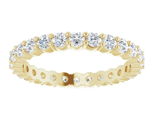 Lab-Grown Diamond Eternity Band