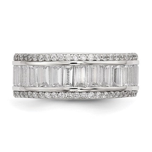 Crystal Eternity Band