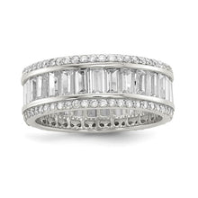Load image into Gallery viewer, Crystal Eternity Band
