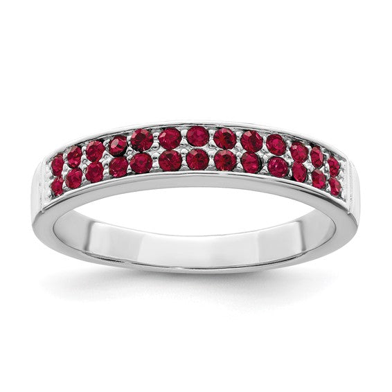 Red Crystal Band
