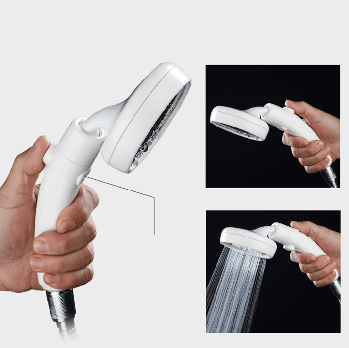 HOT SALE !!!! High Pressure Hand Switch Shower Head Handheld Rainfall Nozzle Sprayer