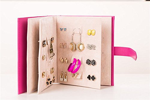 A Small Book for Keeping Your Earrings Safe! Earrings Organizer Hanger Display Stand - Best Choice for Self Collection and Gift