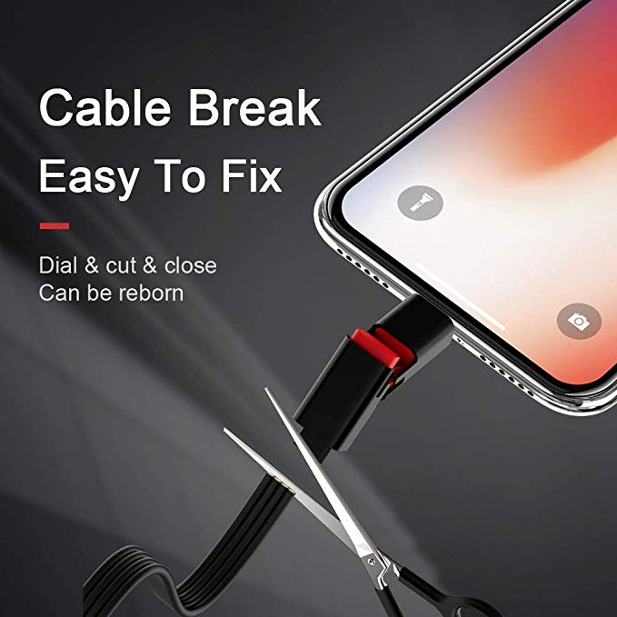 (Limited Sale: 40%off )Quickly Repair Cable,Recyclable Cable.fast charging