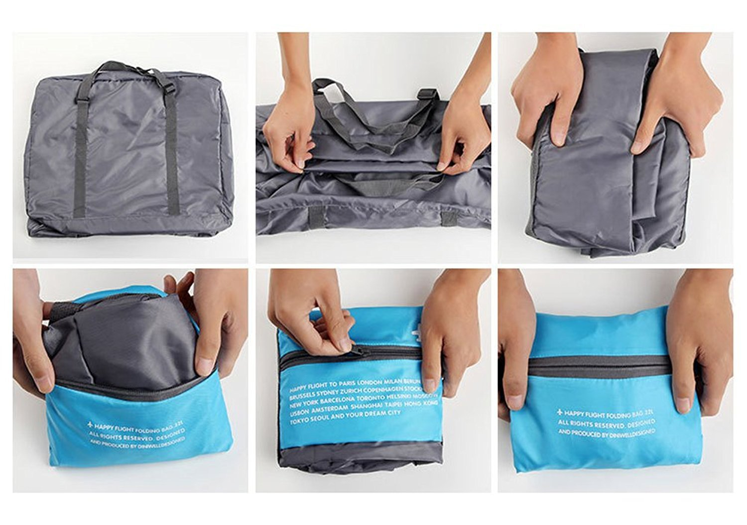 (Limited Sale: 40%off and Buy 2 Freeshipping)Large capacity foldable travel bag