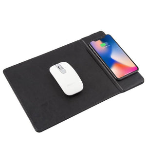 (Hot selling 50% OFF TODAY)Wireless Charging Mouse Pad with Stand 2019