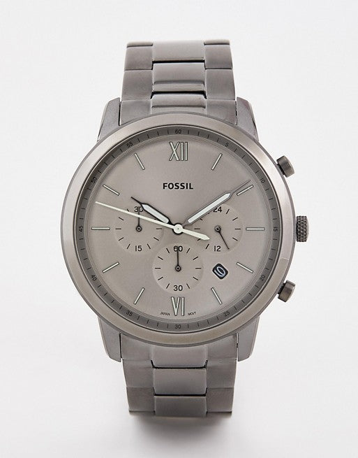 Round Analog Gray Dial Men's Chronograph Watch
