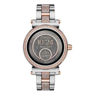 2019-20 AW Unisex Round Stainless With Jewels Elegant Watch