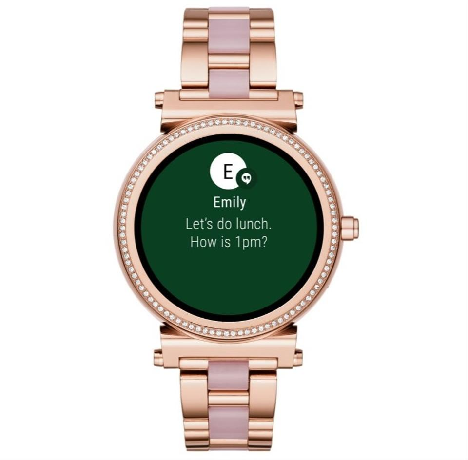 Rose Gold-tone/Pink Access /Acetate Smartwatch