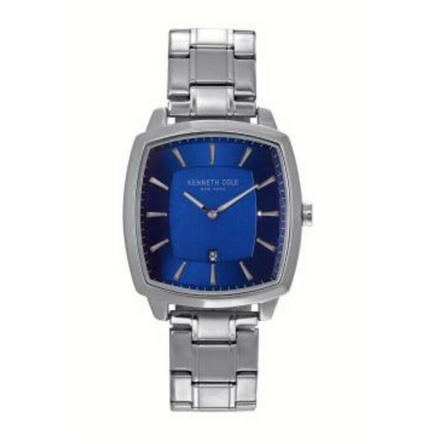 Men's Automatic-self-Wind Watch with Stainless-Steel Strap, Silver