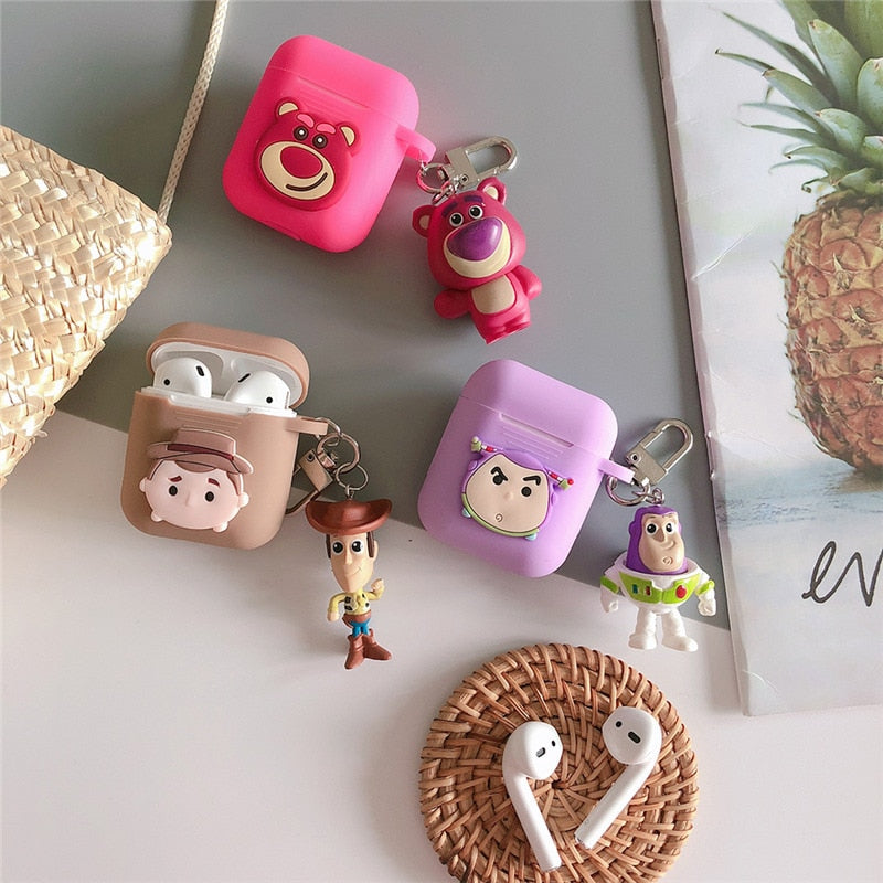 Cute earphone Case For Apple air pods