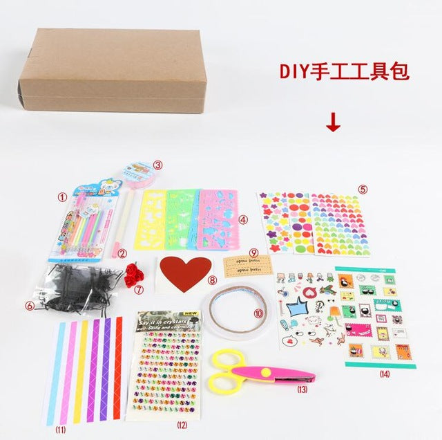 11 Colors Surprise Party's Love Explosion Gift Box