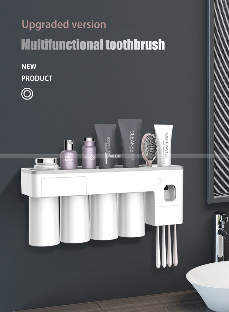 Wall Mount Toothbrush Holder