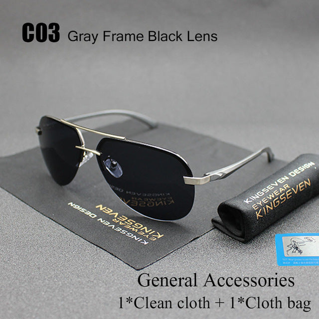 2020 Aluminum Magnesium Polarized Sunglasses
