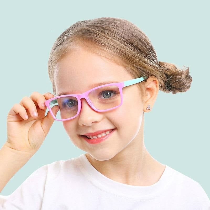 Kid's Blue Light Anti-Glare Filter Eyeglasses