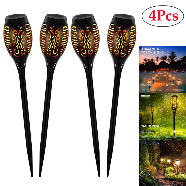 2020 Hot Selling Solar Flame Torch Lamp