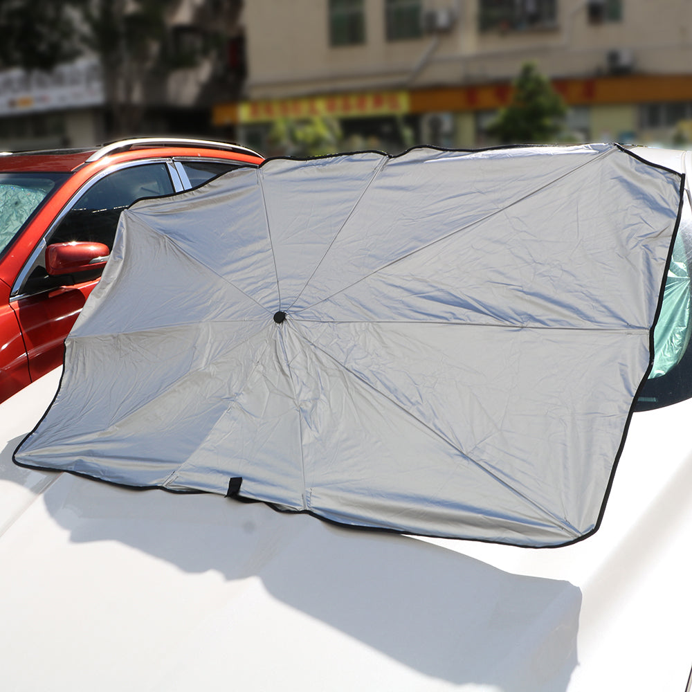 2020 Foldable Car Sun Protector Umbrella - Block Heat UV