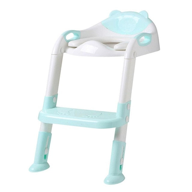 Toddler Ladder Trainer Seat With Step Stool