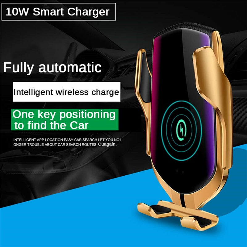 Automatic Clamping Wireless Charger