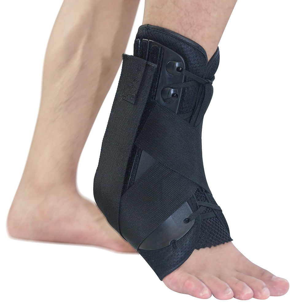 Ankle Brace Support Sports Adjustable Ankle Straps Foot Stabilizer