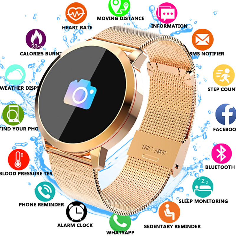 2020 Latest Unique Fitness Tracker Women and Men Sport Smart Watch