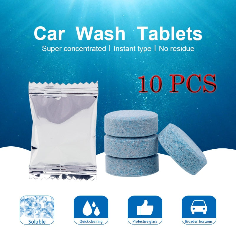 10PCS/Pack (1PCS=4L Water) Car Windshield Glass Cleaner