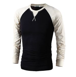 Long Sleeve T-Shirt - Black - NEW & STYLISH!