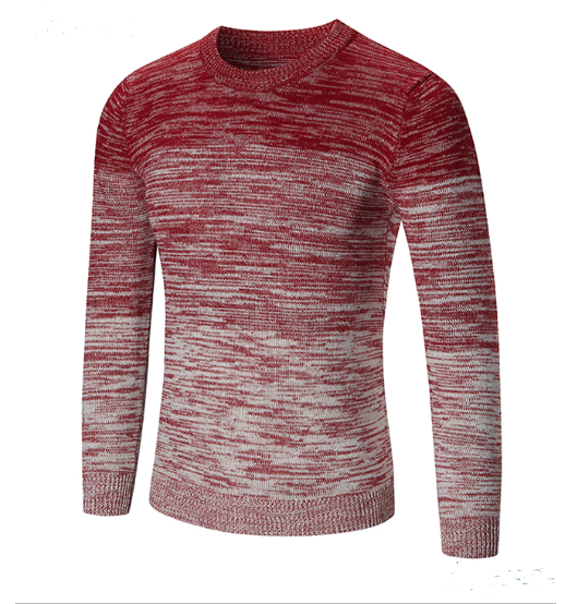 Knitted Pullover Sweater - Long Sleeve