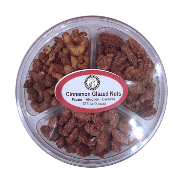 Cinnamon Glazed Nuts Tri-Pack