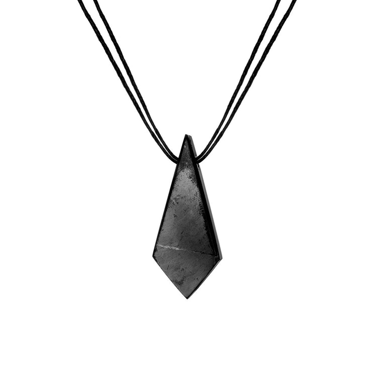 Shungite Cord Necklace