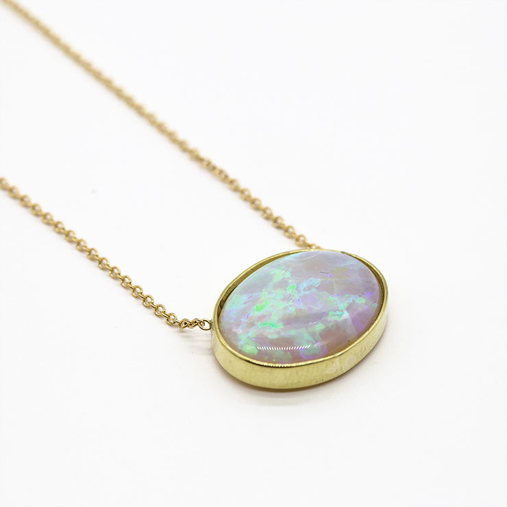 One of a Kind Opal Necklace