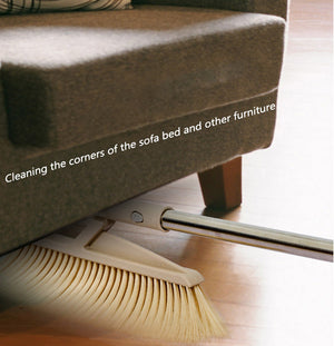 (Limited Sale: 40%off and Buy 2 Free Shipping)Sweeping Home Soft Fur Home Bedroom Hotel Plastic Cleaning Broom Set