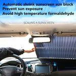 【HOT SELLING!!!】Car sunscreen insulation sunscreen automatic telescopic folding front windshield
