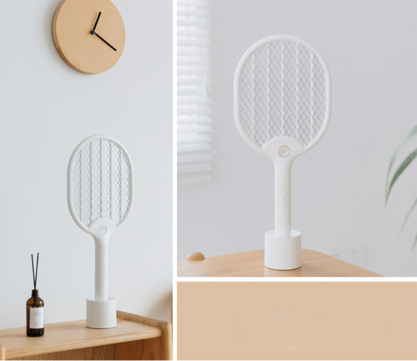 Electric Mosquito Swatter, Led Light Mosquito Killer Home USB Dense Net Fly Swatter