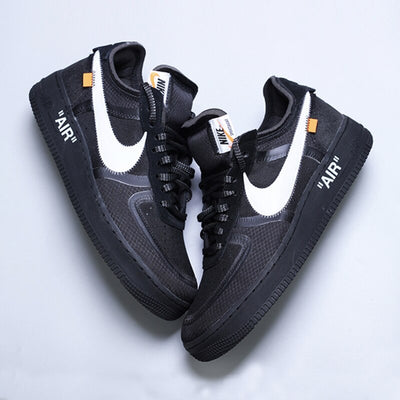 Nike Air Force 1 Off-white Ow Jointly Women Skateboarding Shoes New Arrival Leisure Time Sports Sneakers#AO4606-001