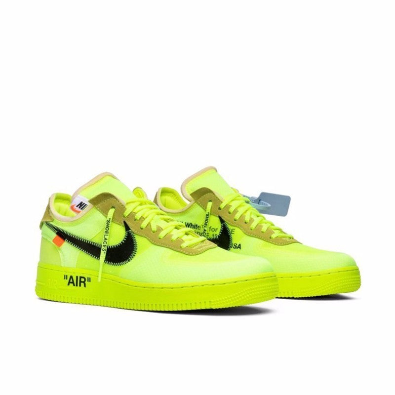 Off White Nike Air Force 1 Volt Store List |