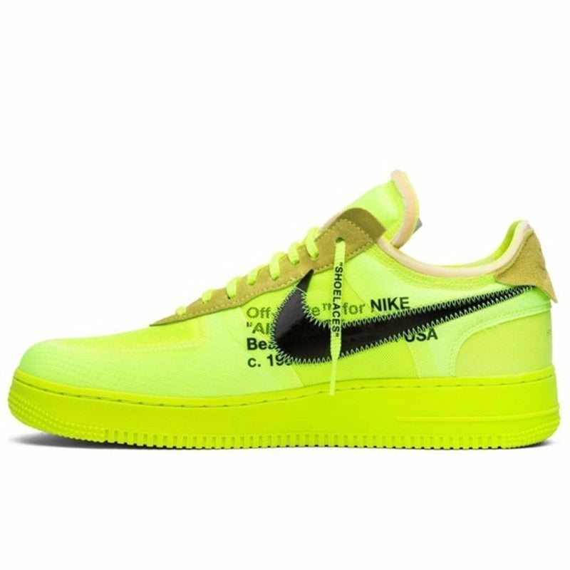 sports shoes 556b5 c7631 OFF-WHITE x Air Force 1 Low 'Volt' - Sniiikerz