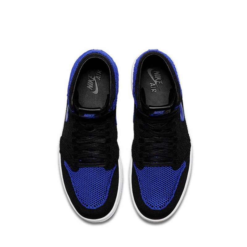sports shoes 7213a dc6f1 Original Authentic Nike Air Jordan 1 Retro Hi Flyknit AJ1 Men s Basketball  Shoes Sport Outdoor Sneakers